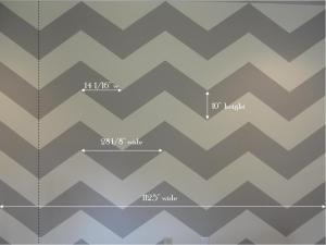chevron wall digure
